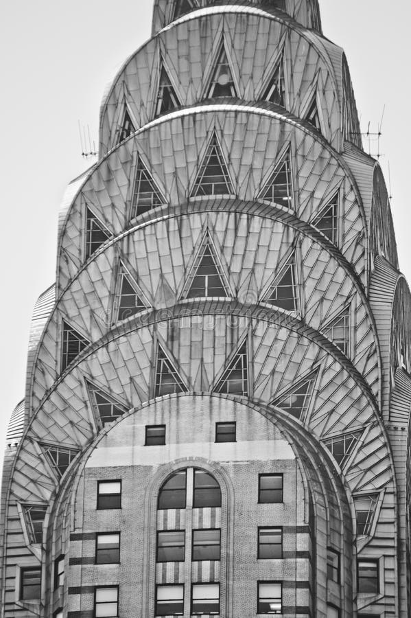 Chrysler Building Detail royalty free stock images