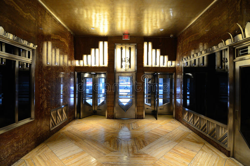 Download Chrysler Building Lobby editorial photo. Image of deco - 20994586