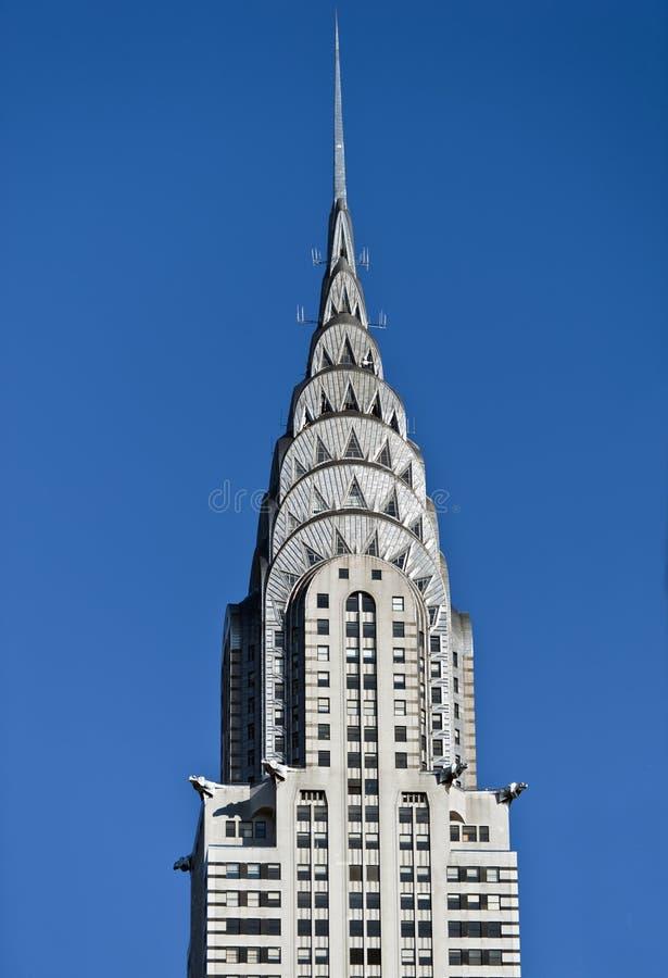 Chrysler Building New York royalty free stock photo