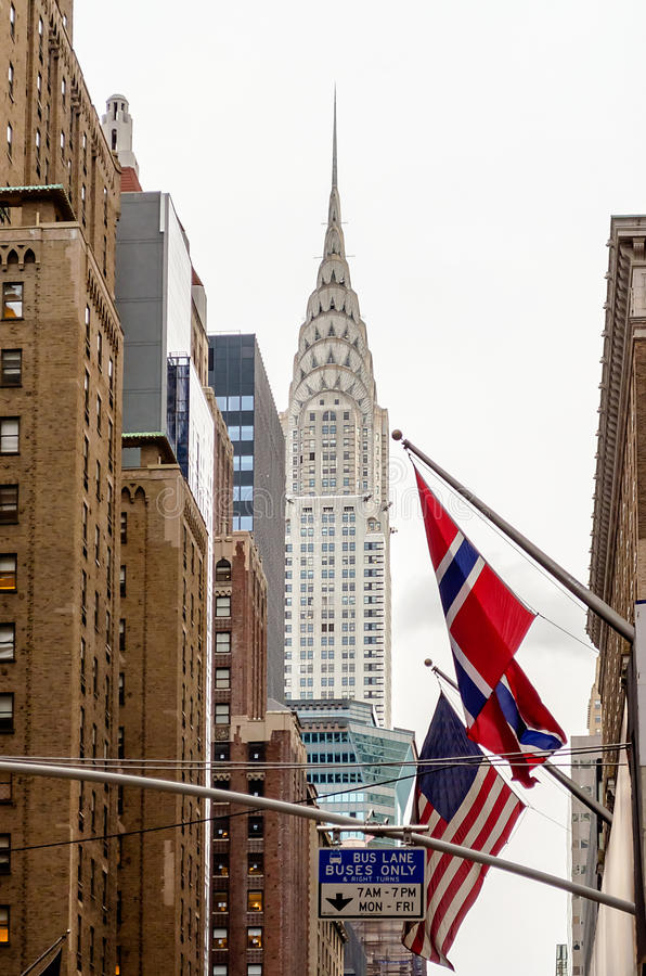 The Chrysler Building, New York Editorial Stock Image