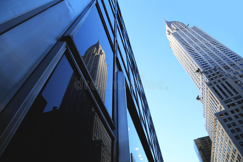 The Chrysler building. royalty free stock photos