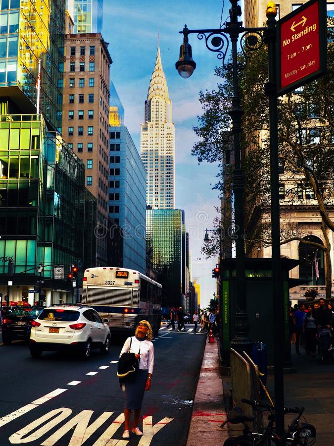 Chrysler Building NY NY royalty free stock photography