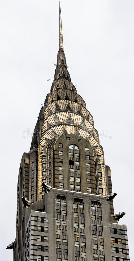 Free Chrysler Building Spire Royalty Free Stock Photography - 6994897