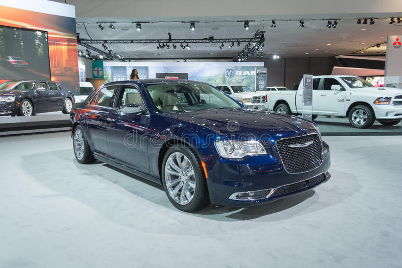 Chrysler 300 C immagine stock