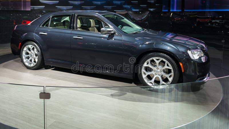 2016 Chrysler 300C stock afbeeldingen