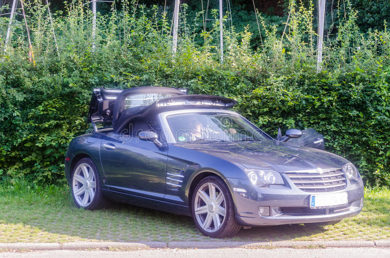 Chrysler Crossfire zdjęcia royalty free