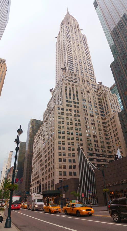 Chrysler die de Stad van New York inbouwen royalty-vrije stock foto