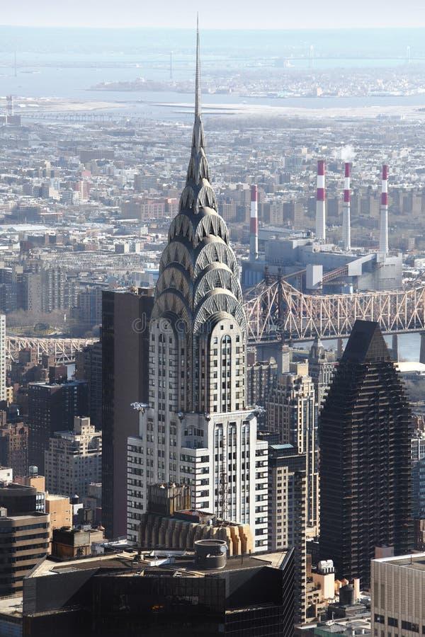 Chrysler-Gebäude New York stockfotos