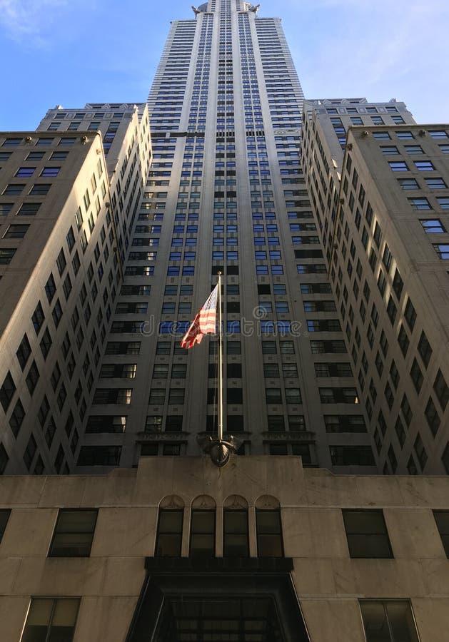 Chrysler-Gebäude in New York City stockbilder