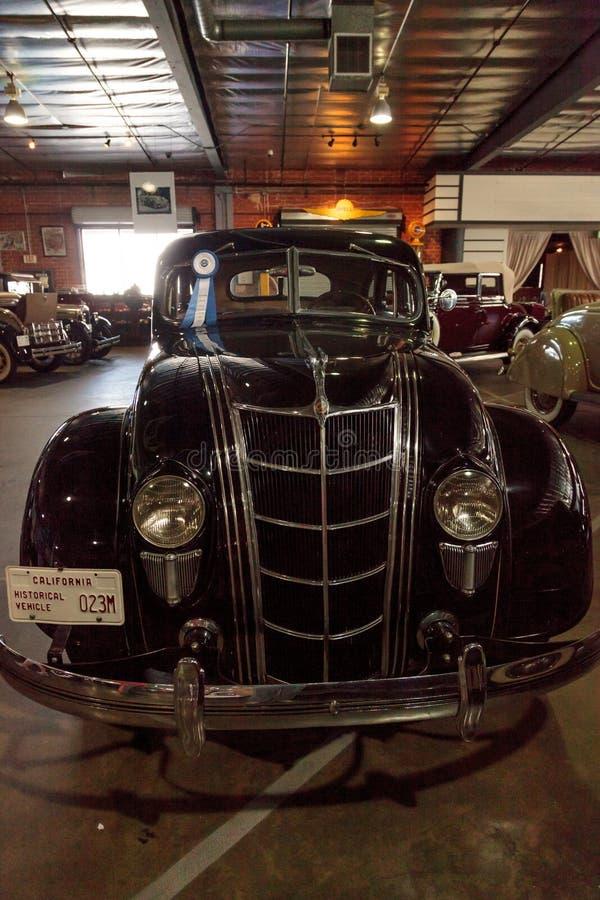 1935 Chrysler-Luchtstroom stock foto's