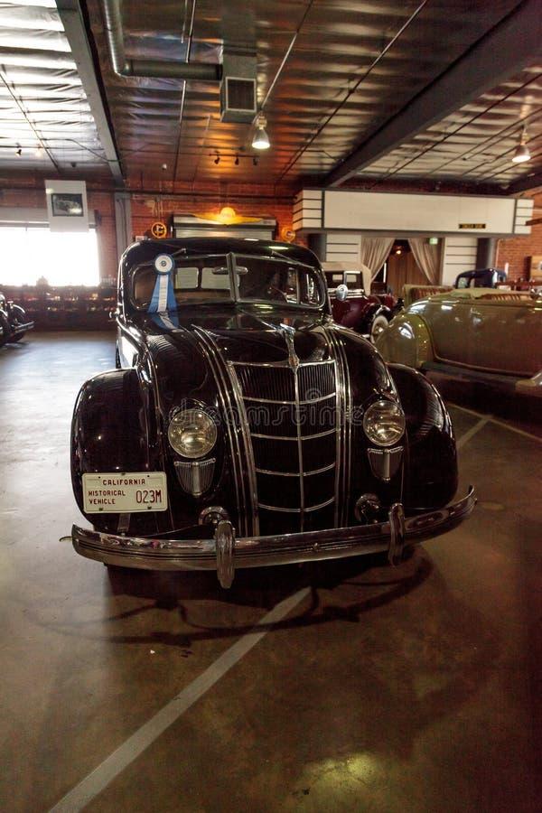 1935 Chrysler-Luchtstroom royalty-vrije stock foto's