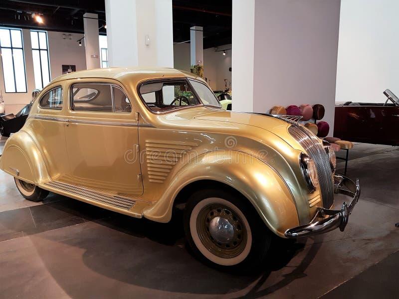 Chrysler-luchtstroom 1934 stock foto