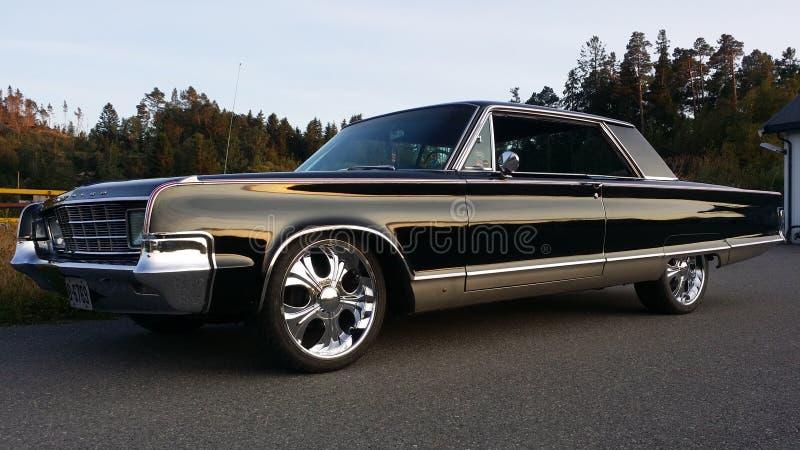 Chrysler Newyorker 1965 stock afbeelding