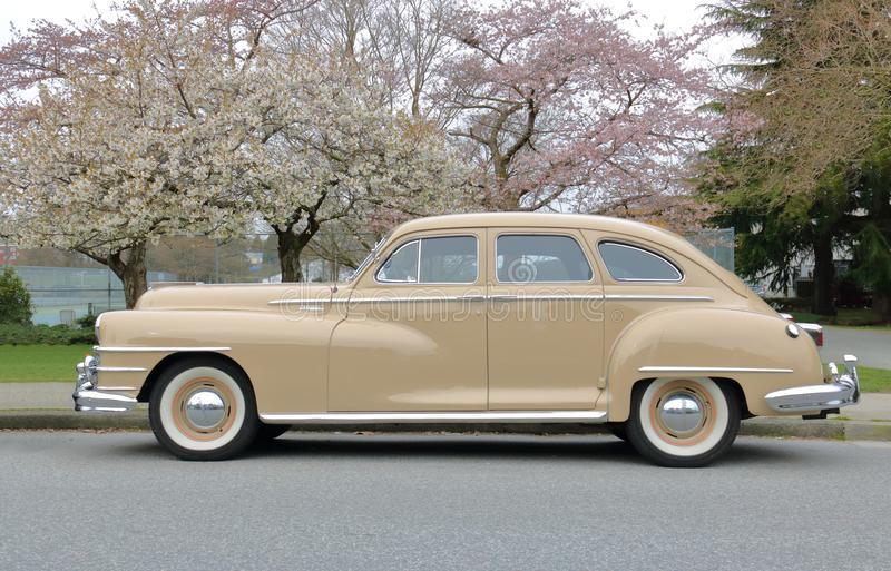 Chrysler 1948 Windsor arkivfoto