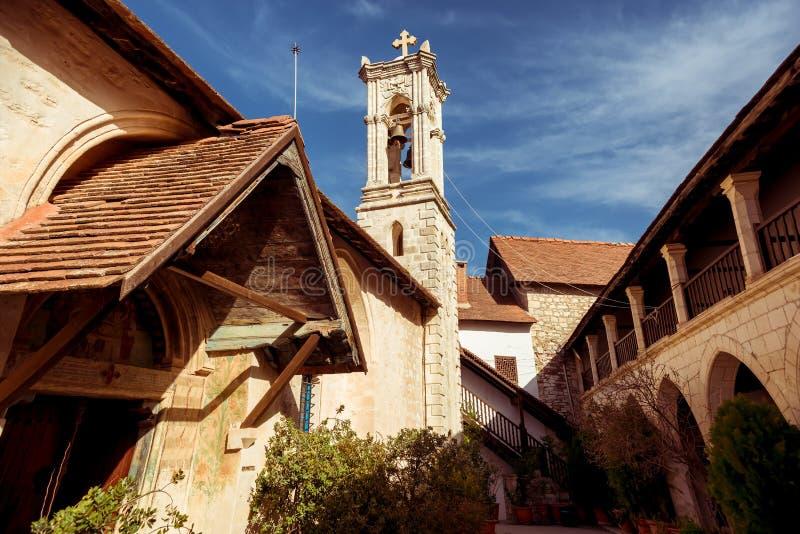 Chrysoroyiatissa, монастырь предназначенный к нашей даме золотого стоковое изображение rf