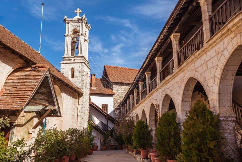 Chrysorrogiatissa monaster Cypr, Paphos okręg obraz royalty free