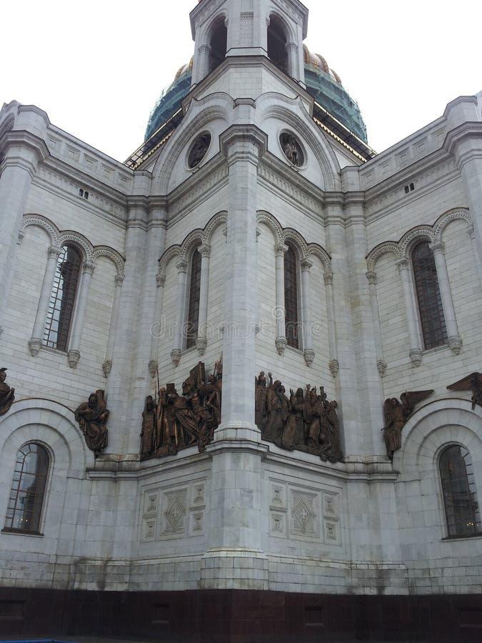 Chryste katedralny Moscow zbawiciela Rosji zdjęcie royalty free