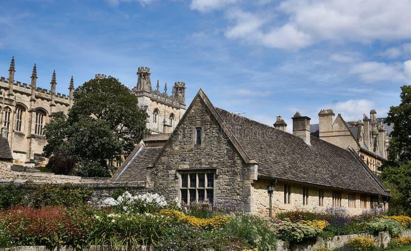 Chrystus kościół Oxford UK zdjęcie stock