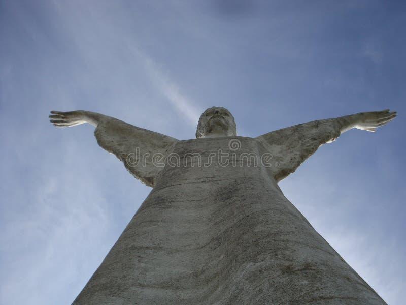 Chrystus odkupiciel, Maratea obraz stock
