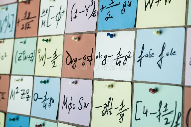 Chrzcielnica liczby Abstrakcjonistyczny tło kolor liczby dla karty lub druku wzoru przypadkowo rozdzielone liczby od zero dziewię ilustracji