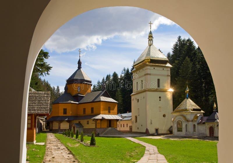 chrześcijański monaster zdjęcia stock