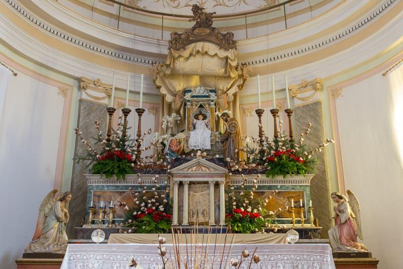 Chrześcijański narodzenie jezusa obraz stock