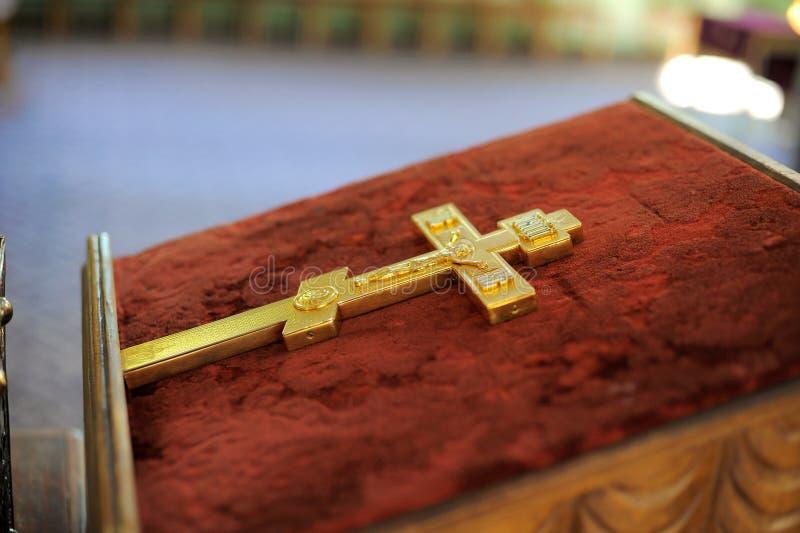 chrześcijański złoty rood obraz stock