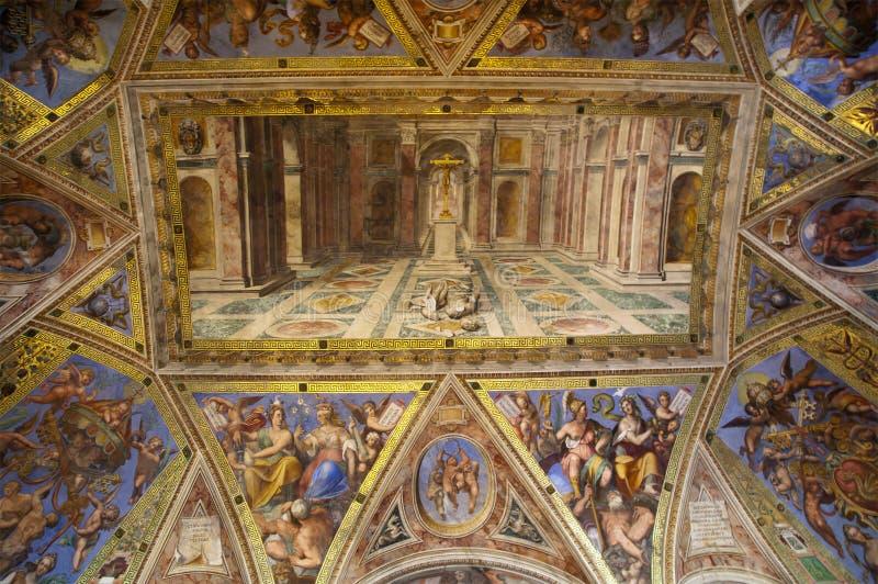 chrześcijaństwo nad pogaństwo triumfem obraz stock