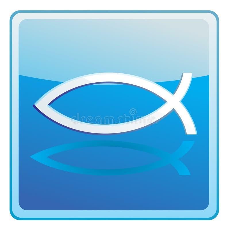 chrześcijanin ryba royalty ilustracja