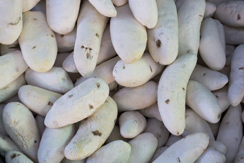 Chuño замораживани-высушило продукт картошки сделанный Quechua и Aymara в Перу Также вызванные папы secas, tunta стоковое фото