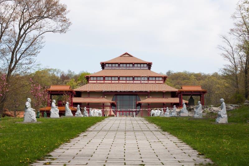 chuang klosteryen arkivbilder