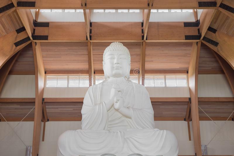 Chuang Yen Monastery image stock