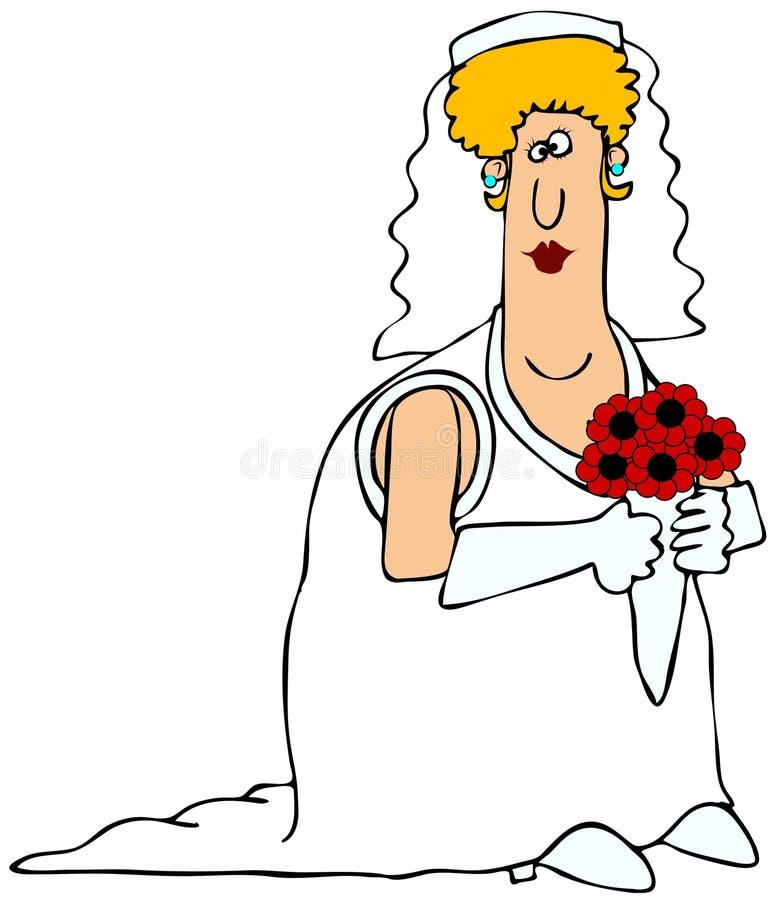 Download Chubby bride stock illustration. Image of wedding, girl - 27141468