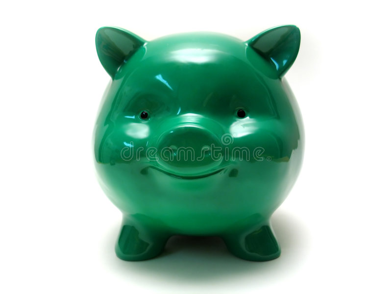 Chubby Piggy stockfotografie
