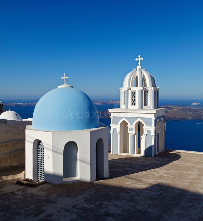Chuch In Fira. Santorini. Greece. Royalty Free Stock Image