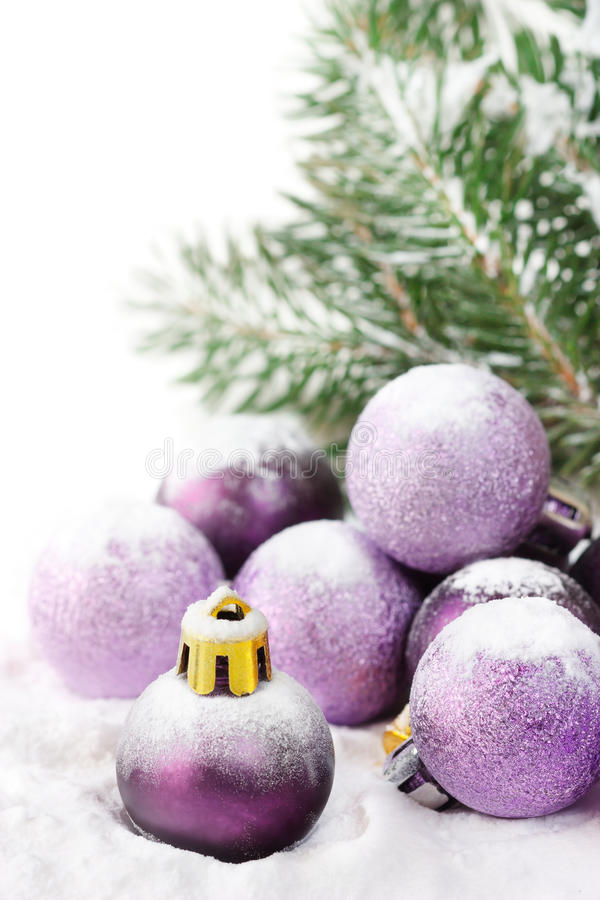 Chucherías de la Navidad. imagen de archivo