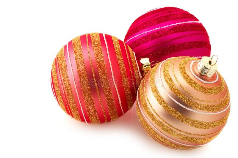 Chucherías de la Navidad imagen de archivo