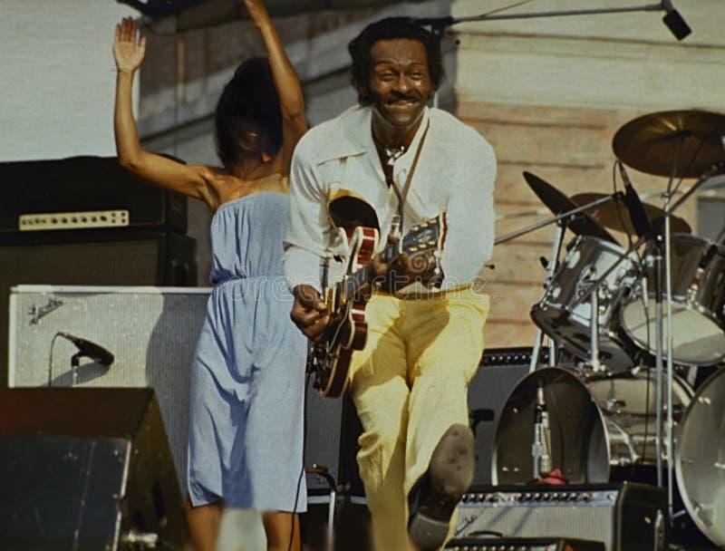 Chuck Berry image libre de droits