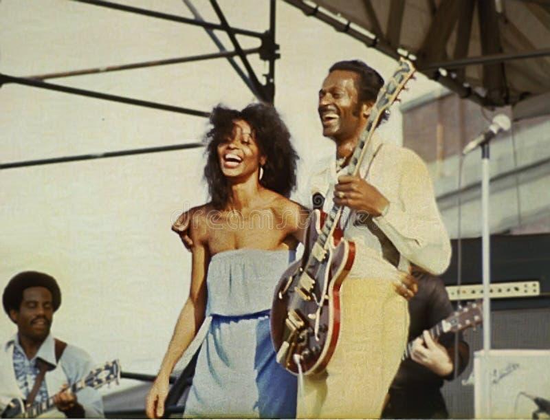 Chuck Berry photographie stock libre de droits