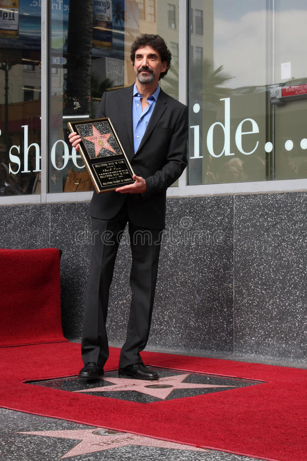 Download Chuck Lorre editorial image. Image of producer, walk - 38024790