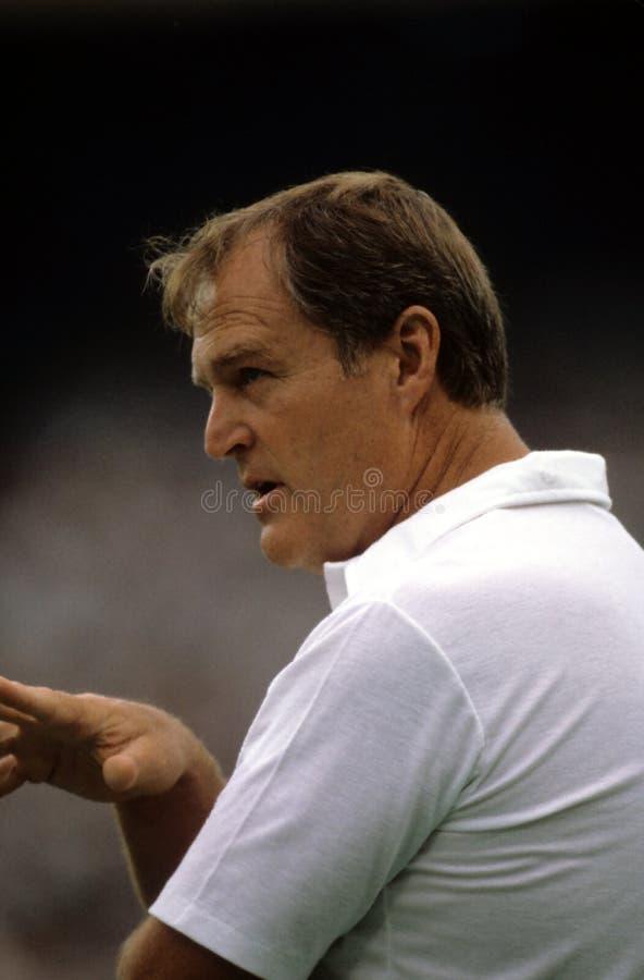 Chuck Noll, Pittsburgh Steelers fotografía de archivo libre de regalías