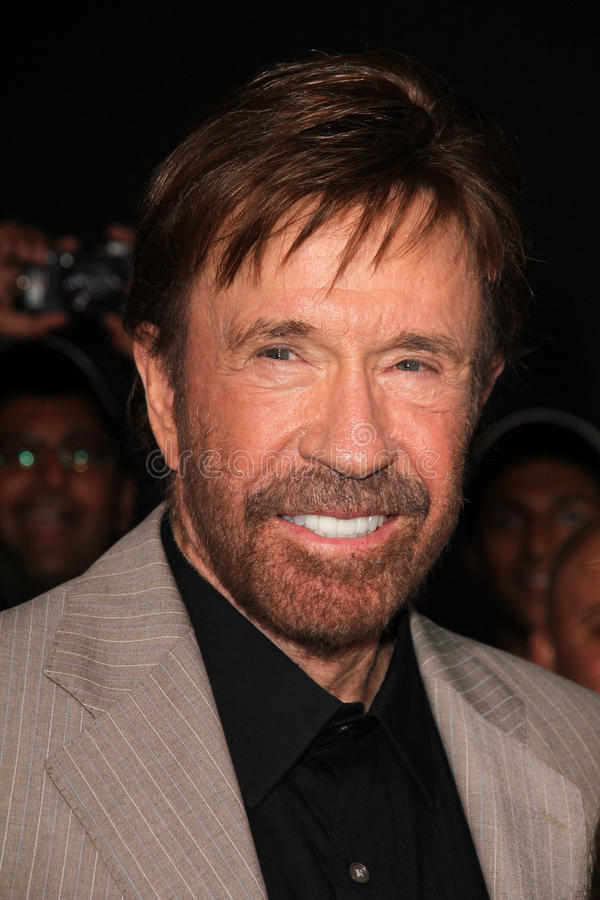 Chuck Norris stock foto's