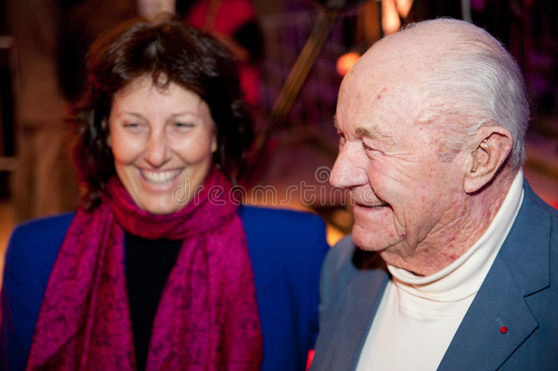 Chuck Yeager royalty free stock photos