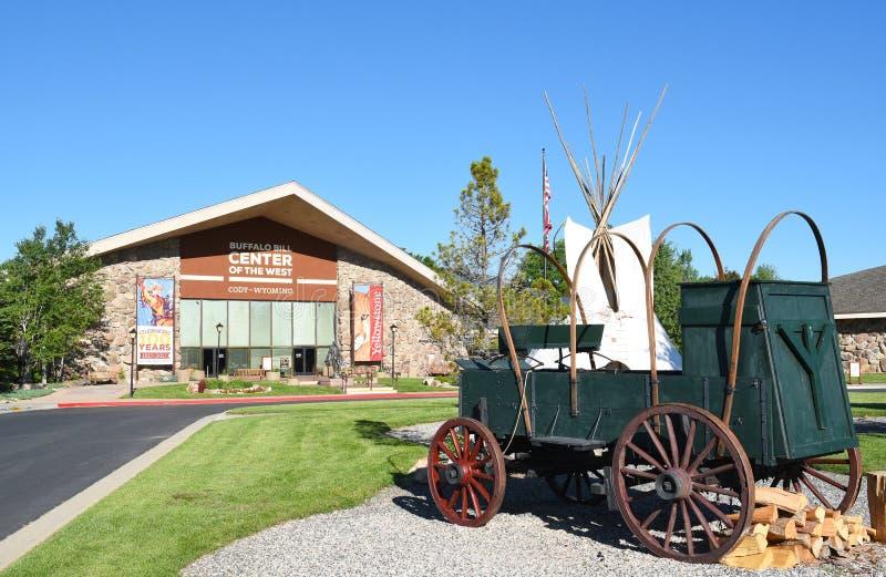 Chuckwagon в центре Билла буйвола запада стоковая фотография rf