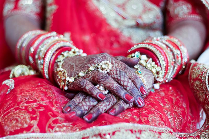 Chuda and mahendi & x28;Heena& x29; - India Ahmedabad royalty free stock photos