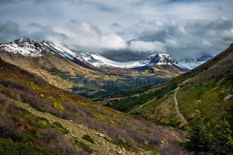 Chugach Front Range Mountains royaltyfria foton