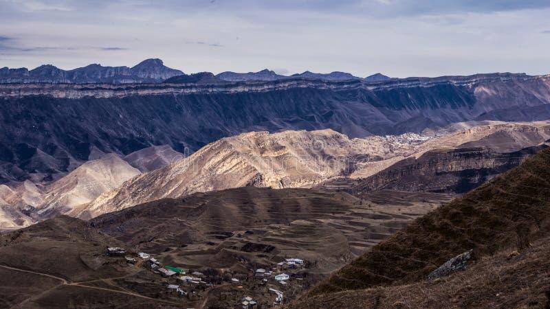 By Chukna, republik av Dagestan royaltyfri foto