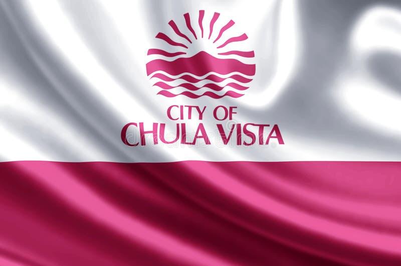 Chula比斯塔加利福尼亚 向量例证