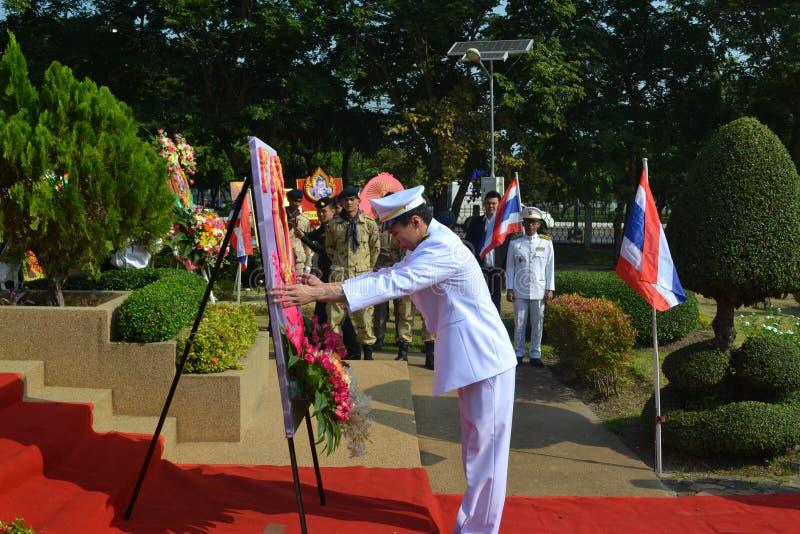 Chulalongkorn dzień obrazy stock