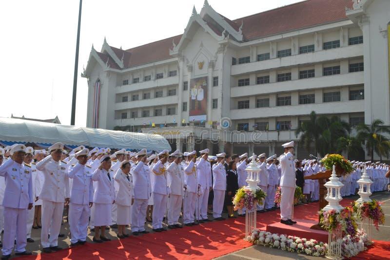 Chulalongkorn dzień zdjęcia stock